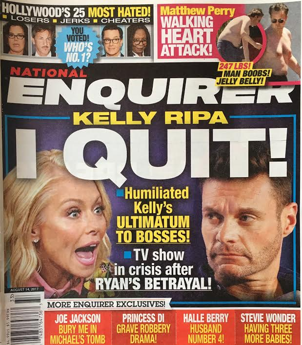 Kelly Ripa Quitting Live Ryan Seacrest