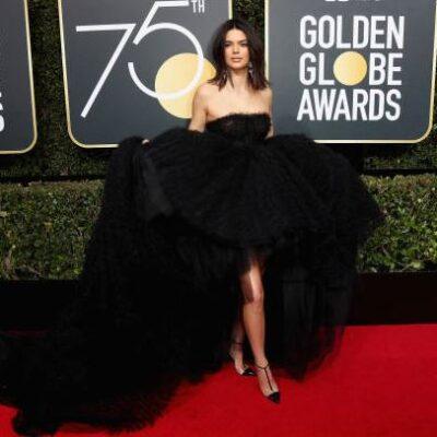 Kendall Jenner Golden Globes 2018