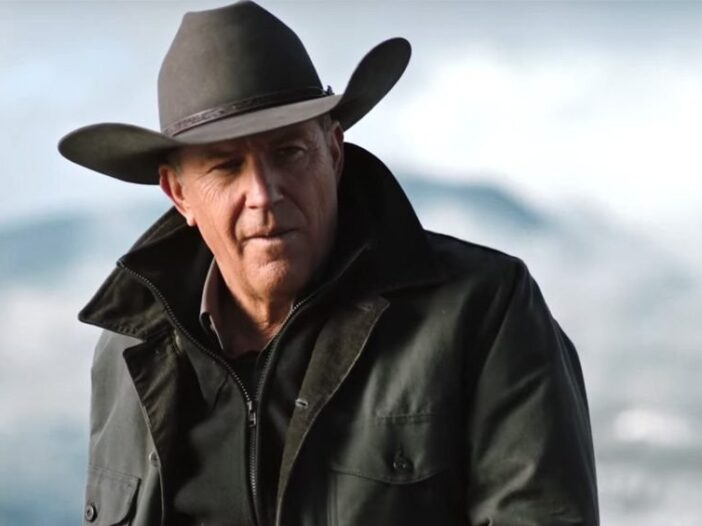 Kevin Costner as John Dutton on _Yellowstone_.