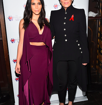 Kim Kardashian North West Star Kris Jenner Manager