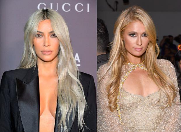 Kim Kardashian Paris Hilton