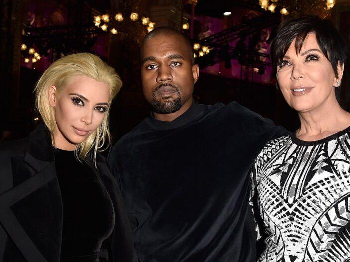 Kris Jenner Kim Kardashian Kanye West Wyoming