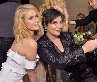 Kris Jenner Planning Paris Hilton Wedding