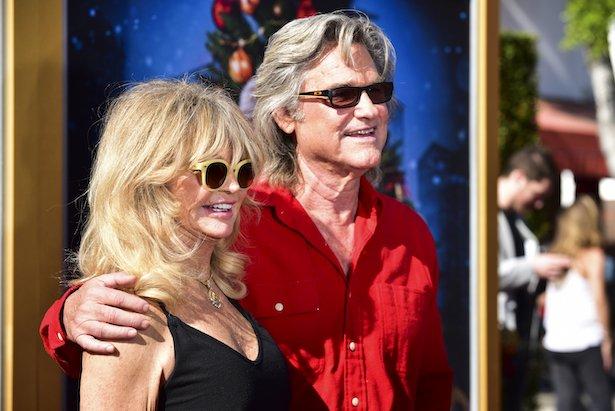 Kurt Russell Goldie Hawn marry wedding