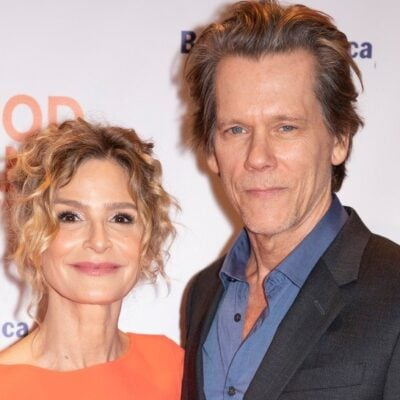 Kyra Sedgwick and Kevin Bacon at an event