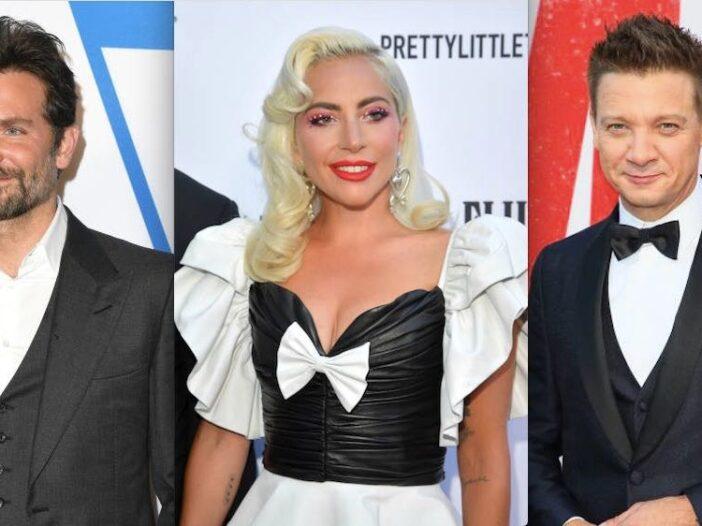 Lady Gaga Bradley Cooper Jeremy Renner