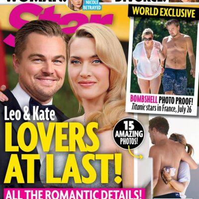 Leonardo DiCaprio Kate Winslet Lovers Romance