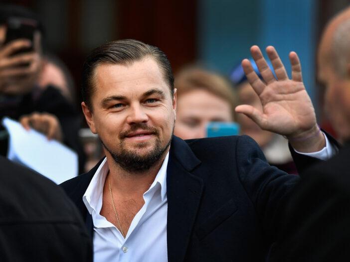 Leonardo DiCaprio sea plane