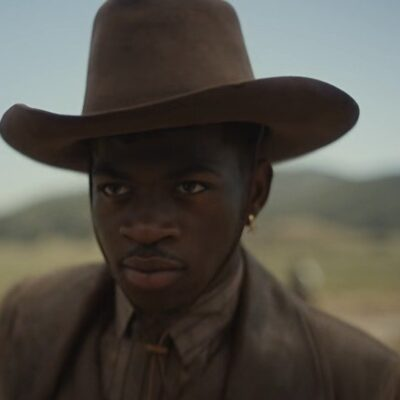 Lil Nas X dressed as a cowboy for his music video for Old Town Road