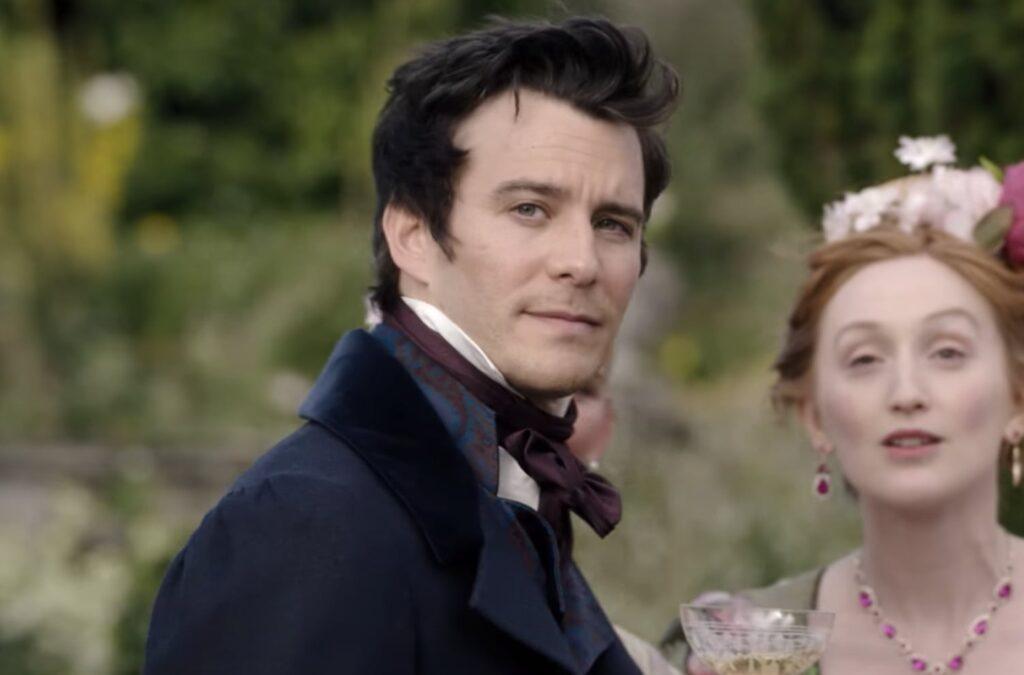 Luke Thompson as Benedict Bridgerton in 'Bridgerton'.