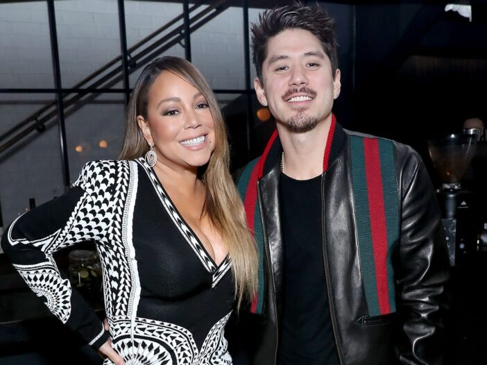 """Mariah Carey and Bryan Tanaka attend the Netflix Premiere for Tyler Perry's """"A Fall From Grace"""" at M"""