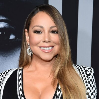 """Mariah Carey attends the premiere of Tyler Perry's """"A Fall From Grace"""" at Metrograph"""