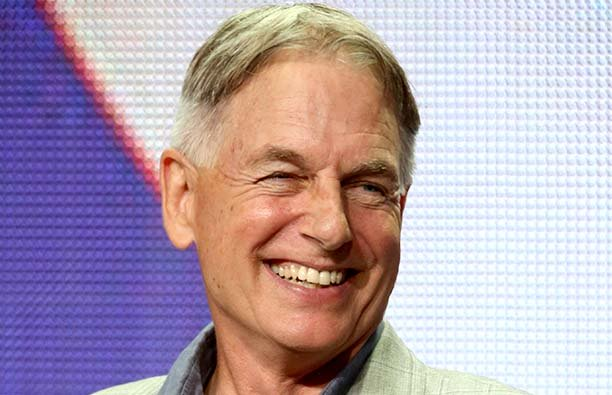 Mark Harmon smiling.