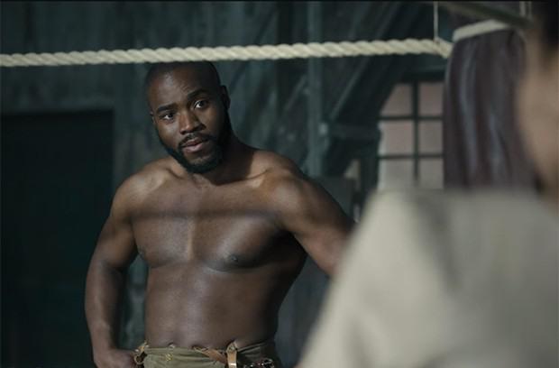 Martins Imhangbe as Will Mondrich on 'Bridgerton'.