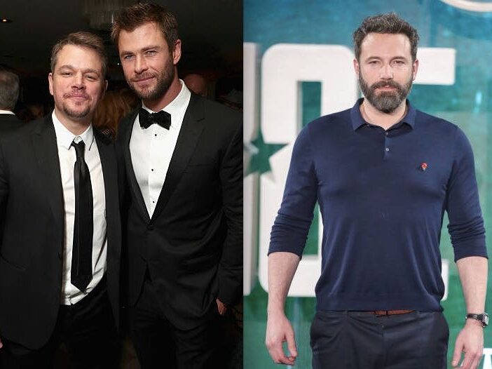 Matt Damon Ben Affleck Chris Hemsworth