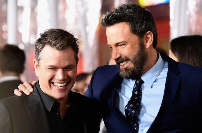 Matt Damon Ben Affleck Friends