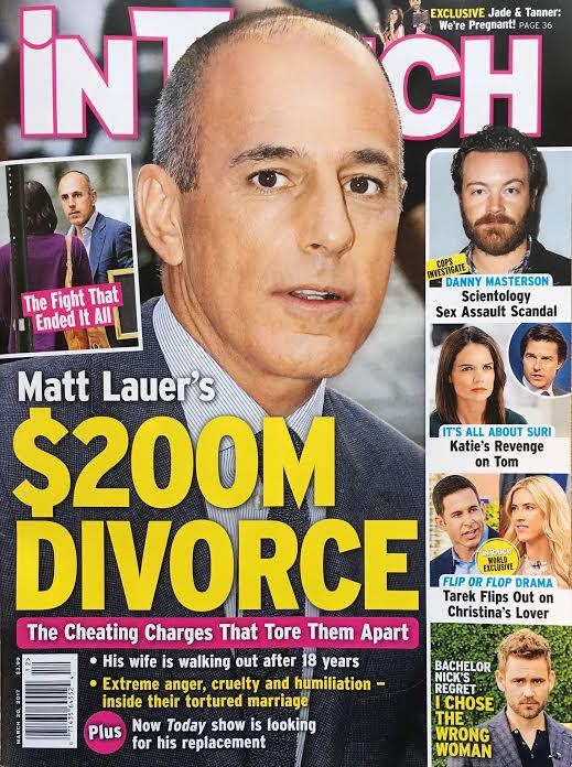 Matt Lauer Divorce Replaced