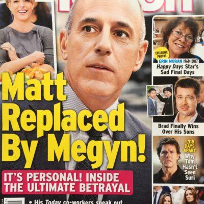 Matt Lauer Replaced Megyn Kelly