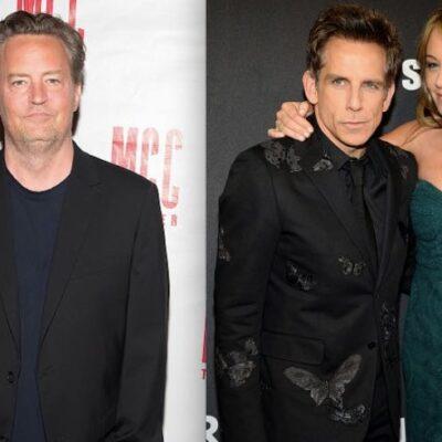 Matthew Perry Ben Stiller Christine Taylor