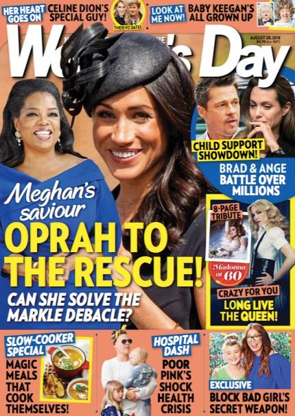 Meghan Markle Oprah Dad