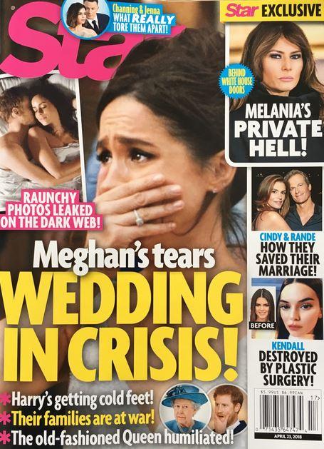 Meghan Markle Wedding Crisis