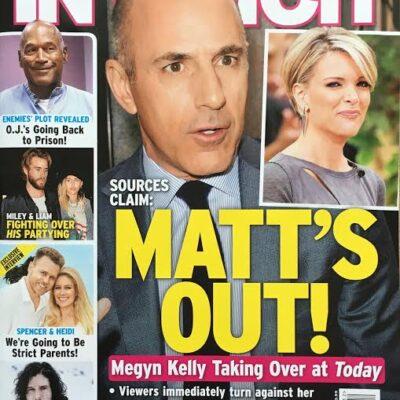Megyn Kelly Replace Matt Lauer Today
