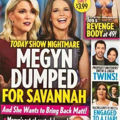Megyn Kelly Savannah Guthrie Dumped
