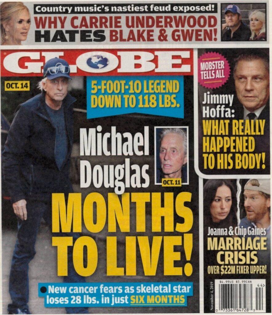 Michael Douglas Cancer Relapse
