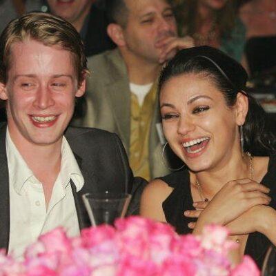 Mila Kunis Macaulay Culkin Happy