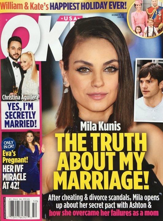 Mila Kunis Marriage Interview