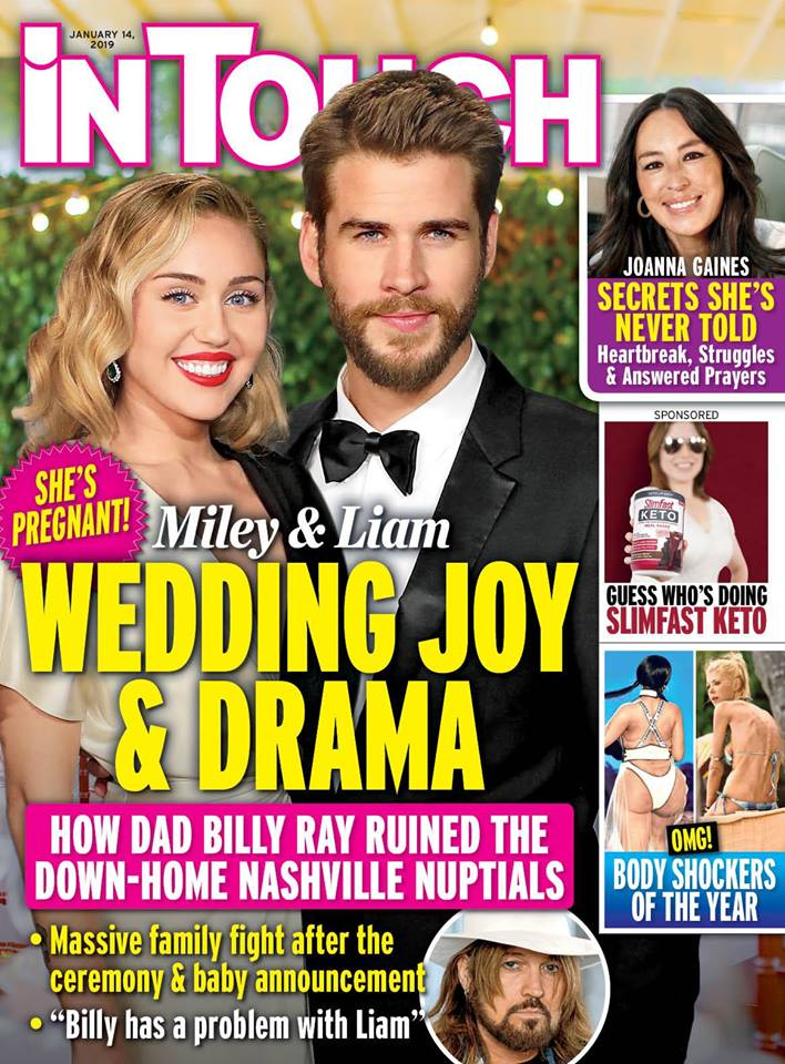 Miley Cyrus Liam Hemsworth Baby Wedding