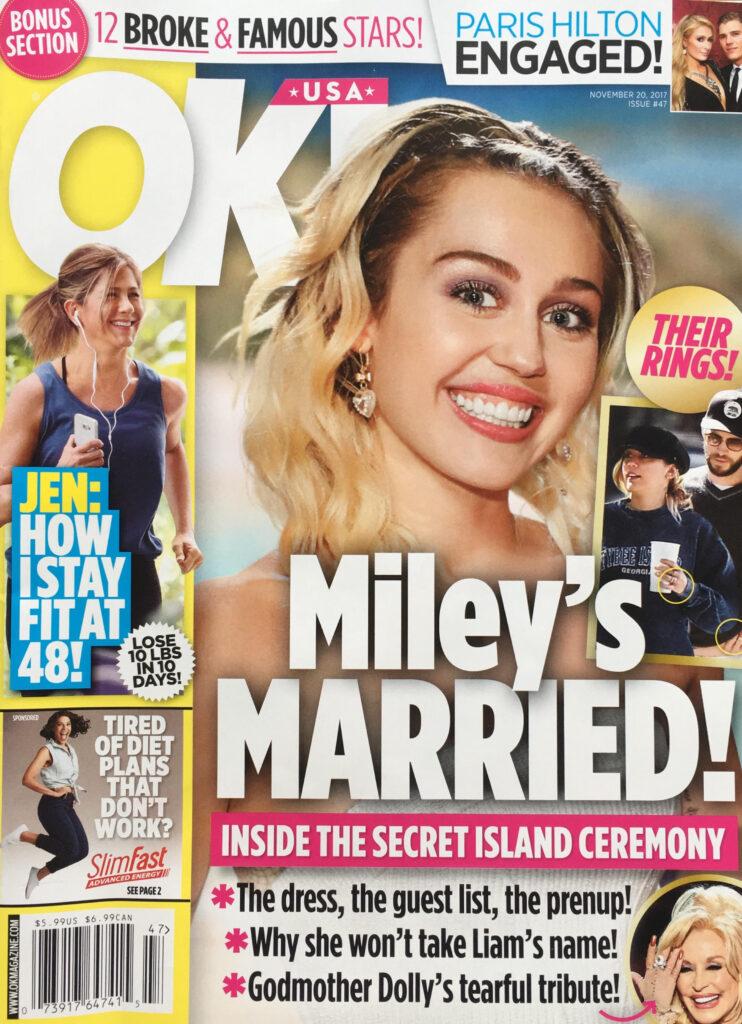 Miley Cyrus Liam Hemsworth Secretly Married
