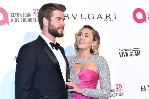 Miley Cyrus Liam Hemsworth Split Second Time