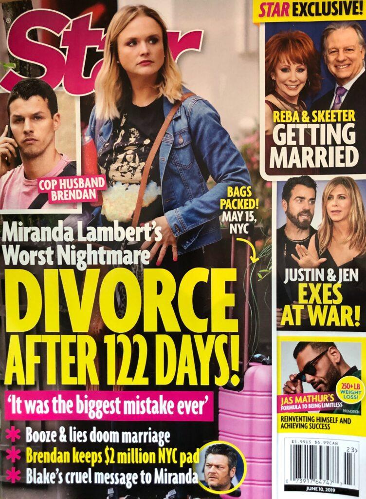 Miranda Lambert Divorce Brendan McLoughlin