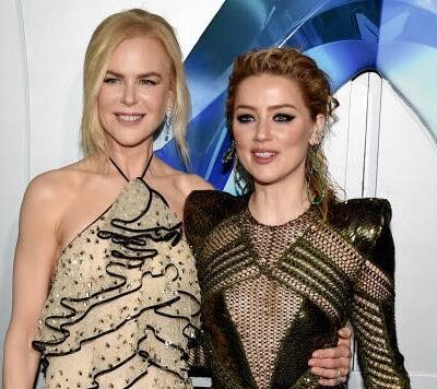 Nicole Kidman Amber Heard Aquaman