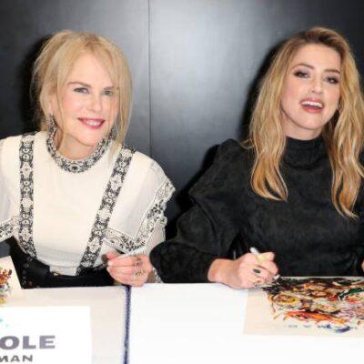 Nicole Kidman Amber Heard Feud Rumors
