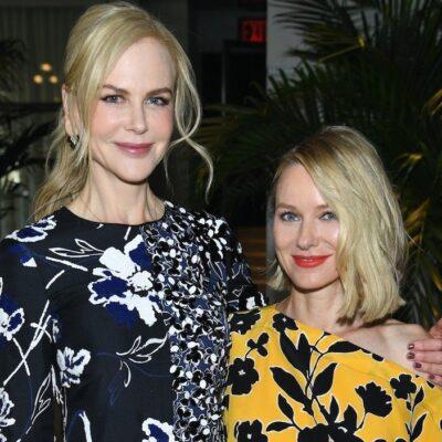 Nicole Kidman and Naomi Watts at an event