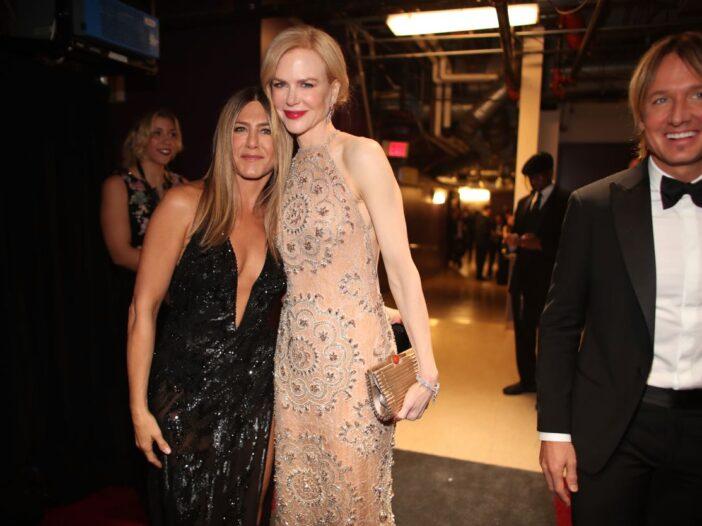 Nicole Kidman Jennifer Aniston Keith Urban