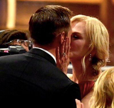 Nicole Kidman Keith Urban Alexander Skarsgard Kiss