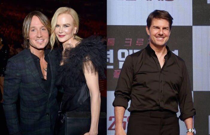 Nicole Kidman Keith Urban Tom Cruise