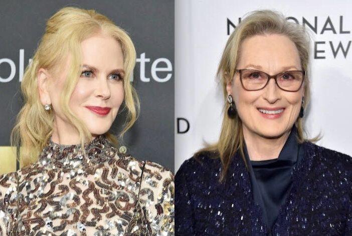 Nicole Kidman Meryl Streep Feud