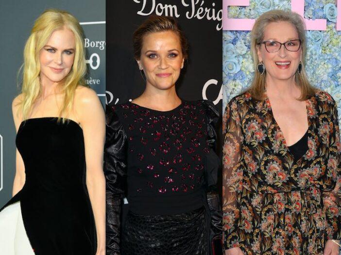 Nicole Kidman Reese Witherspoon Meryl Streep Big Little Lies