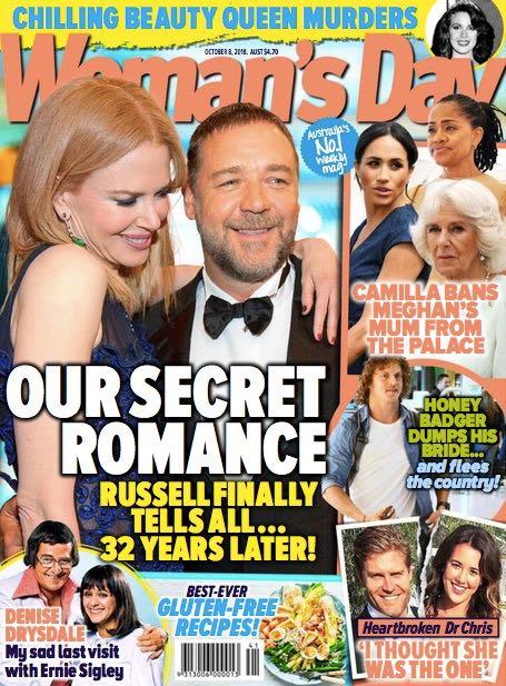 Nicole Kidman Russell Crowe Secret Romance