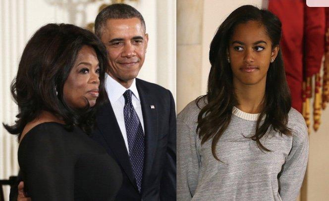 Oprah Malia Obama