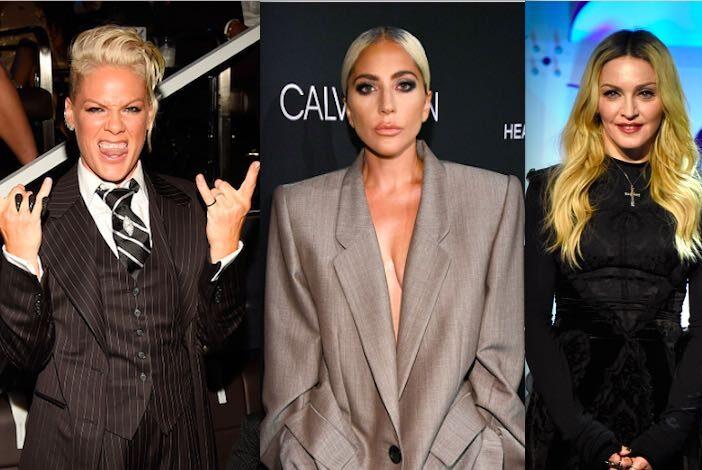 Pink Lady Gaga Madonna