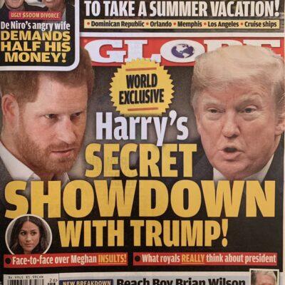 Prince Harry Donald Trump Meghan Markle