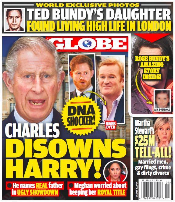 Prince Harry Prince Charles Real Father