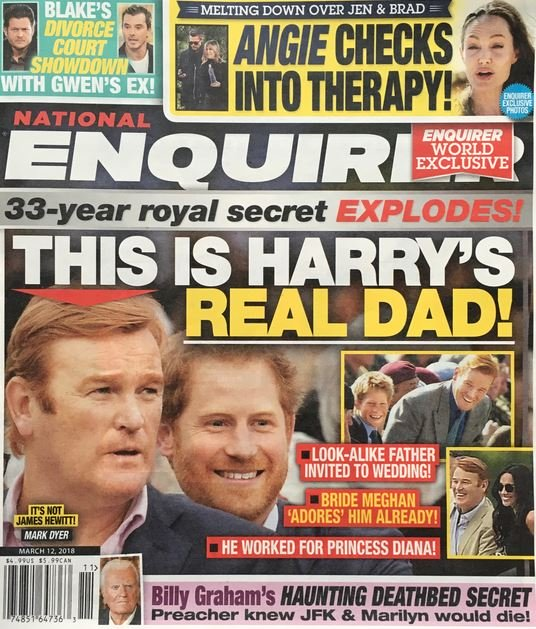 Prince Harry Real Dad