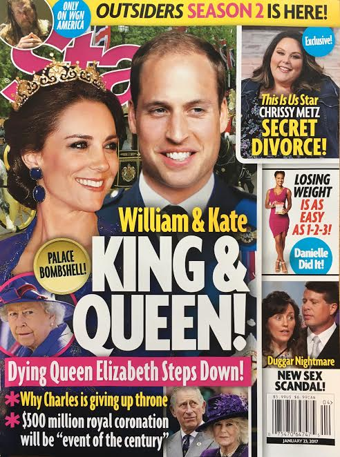 Prince William Crowned King