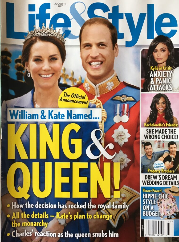 Prince William Kate Middleton King Queen